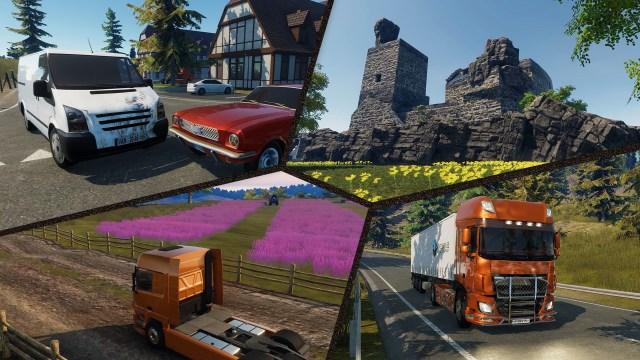 truck driver Hidden Places & Damage System dlc
