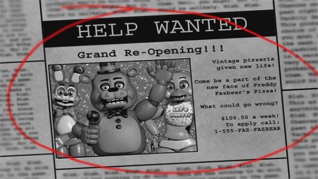 Freddy's Nights at Freddy's 2 Xbox