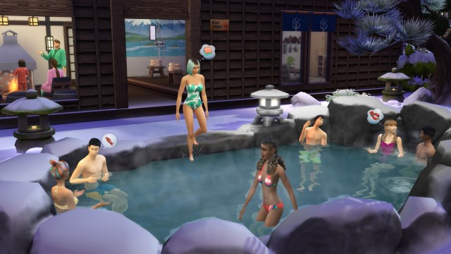 The Sims 4 Snowy Escape Xbox One