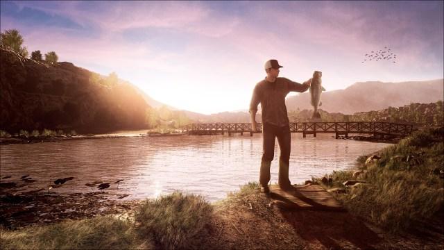fishing sim world lake nelson