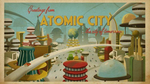 retro machina atomic city