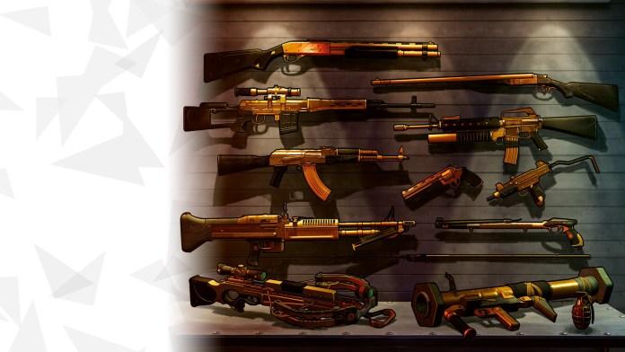 xiii golden weapons