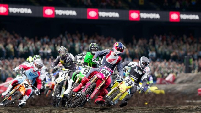 Monster Energy Supercross - The Official Videogame 4 Xbox