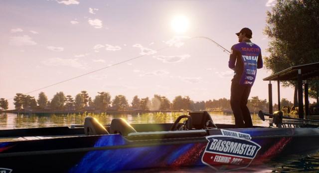bassmaster fishing 2022 screen