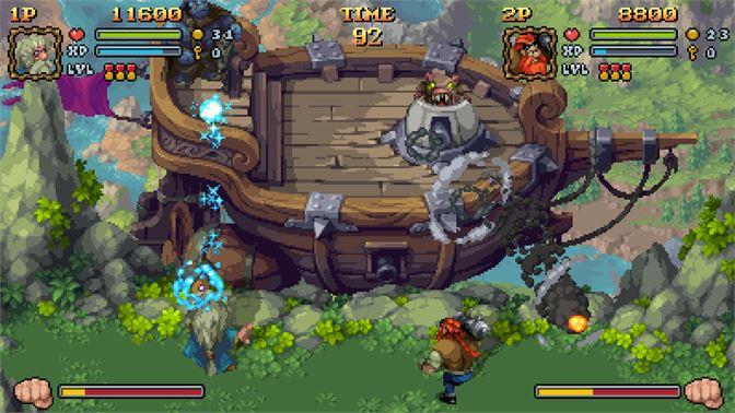 Battle Axe Xbox Review