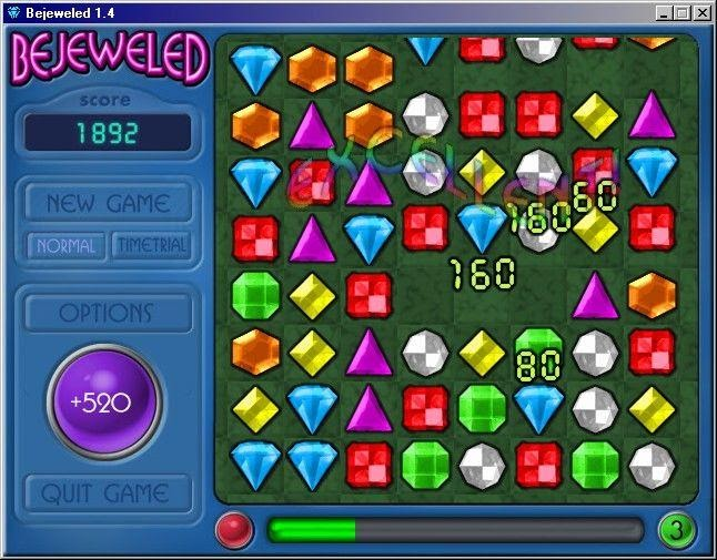 Bejeweled Flash Game