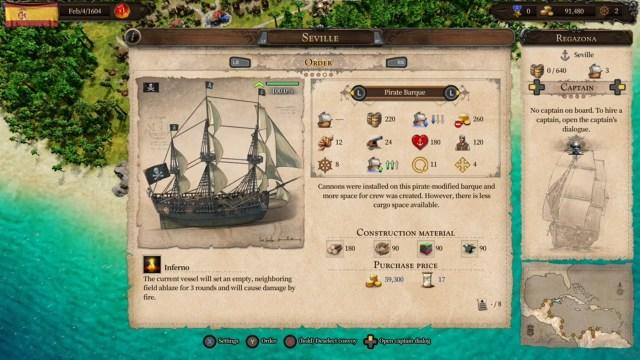 Port Royale 4 - Buccaneers Xbox