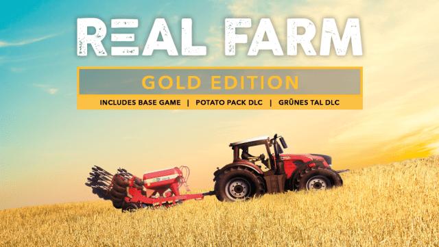 Real Farm Gold Edition Key Art