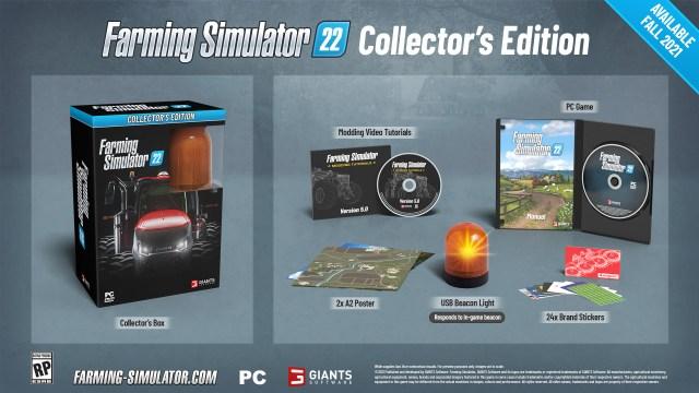 farming simulator 22 collectors edition