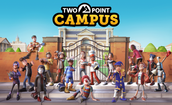 two point campus key art