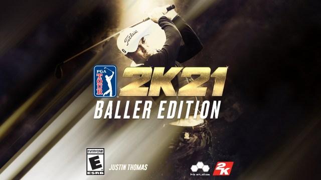 PGA TOUR 2K21 Baller Edition Key Art 2