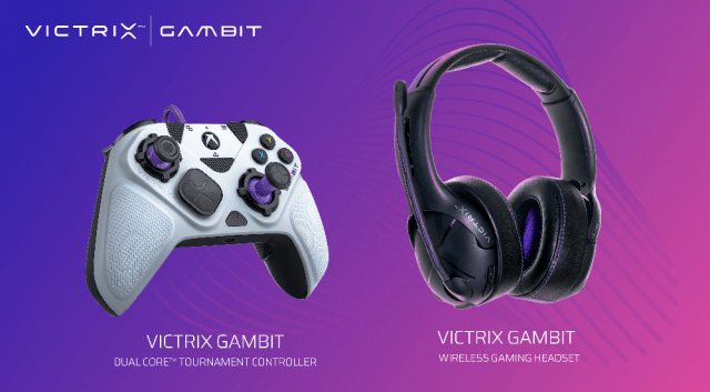 vitrix gambit controller and headset