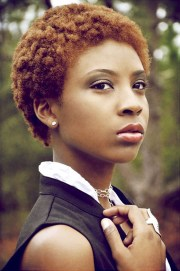short natural hairstyles black