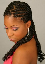 braiding hairstyles ideas black