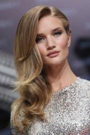side hairstyles long hair women's