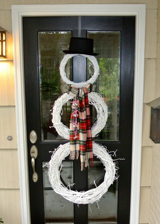 Snowman Decorations Ideas For Christmas Homes The Xerxes