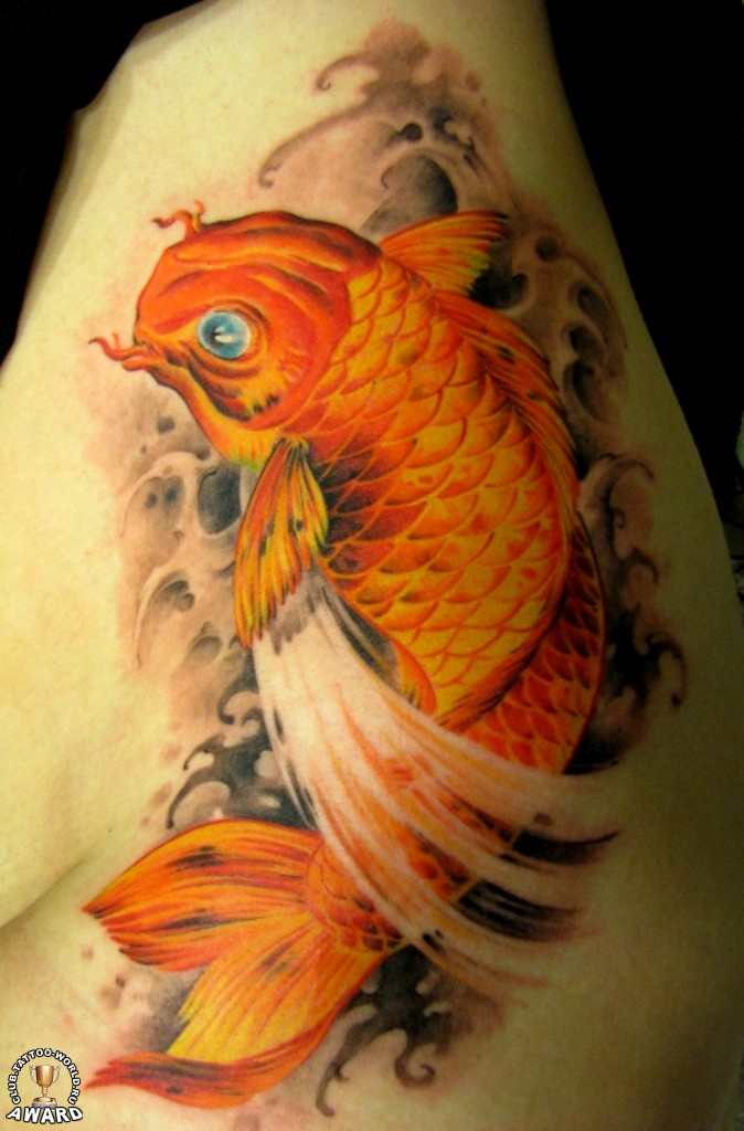 30 Koi Tattoo Design And Displacement Ideas The Xerxes