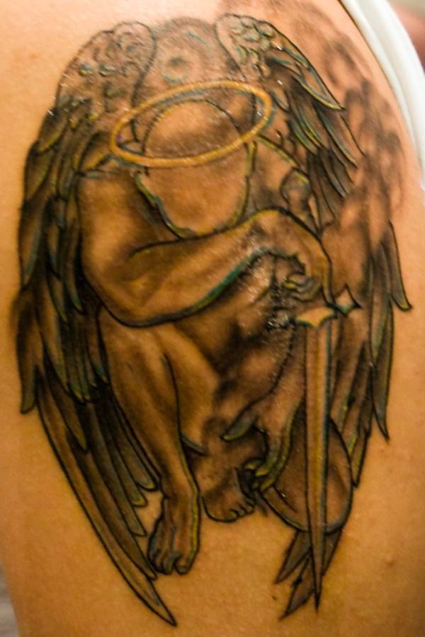 Archangel Gabriel Symbol Tattoo Angel Viewing - Year of