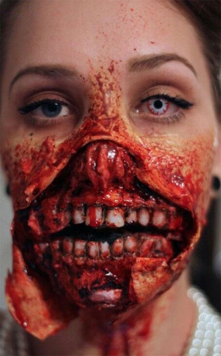 Zombie Halloween Makeup Ideas  The Xerxes
