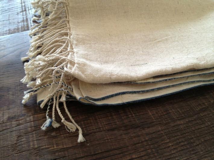 hemp cotton shawl1