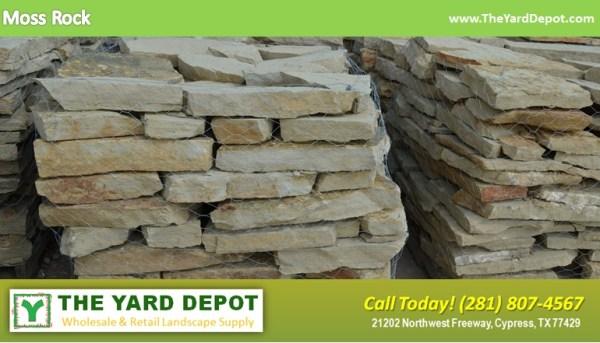 landscape rock yard depot