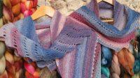 Hand Spun Yarn Knitting Patterns FREE Lace shawls