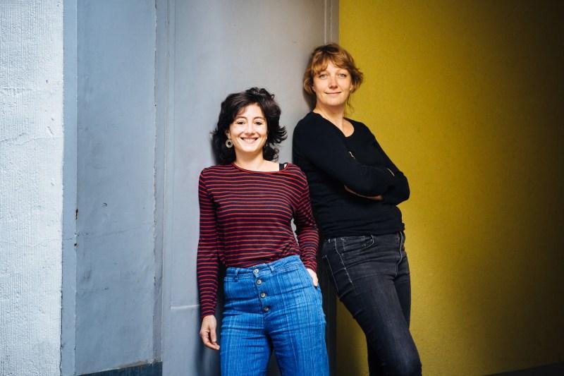 Ayşe Draz (links) und Marlin de Haan, Foto: Frau Babic