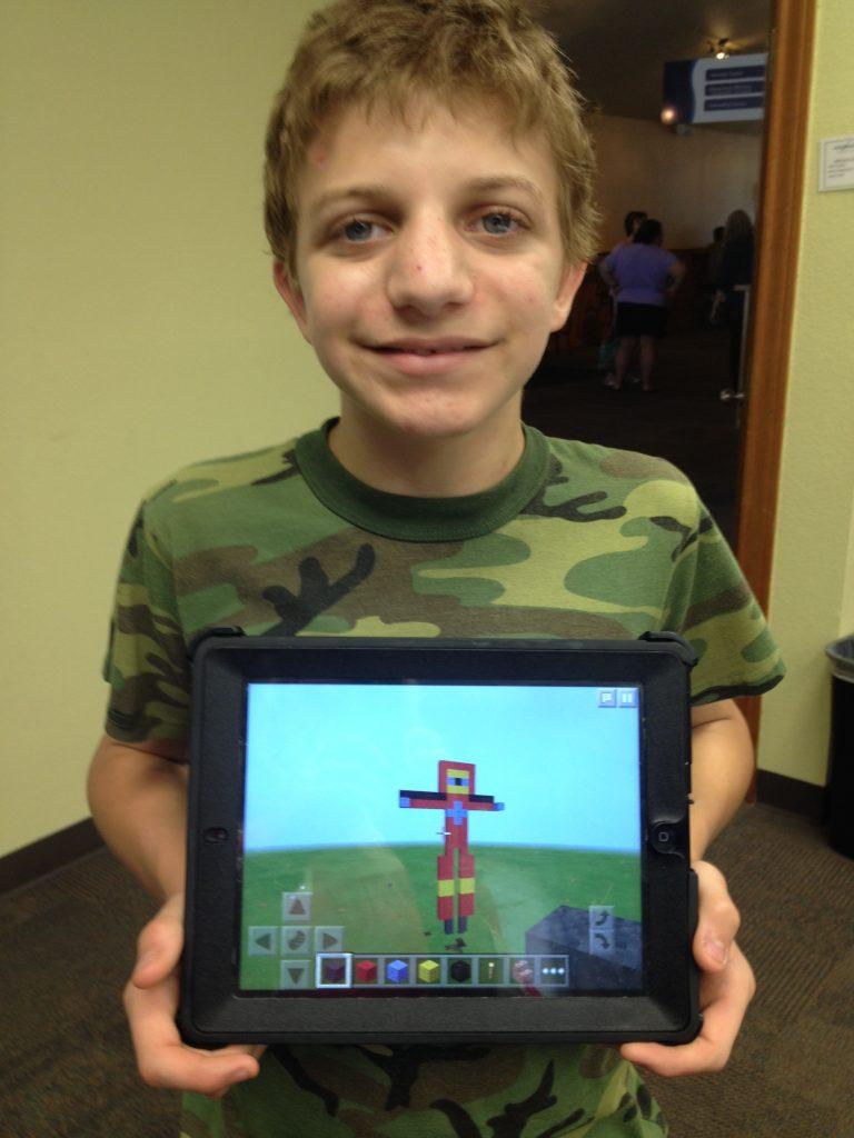 co-op class; Minecraft