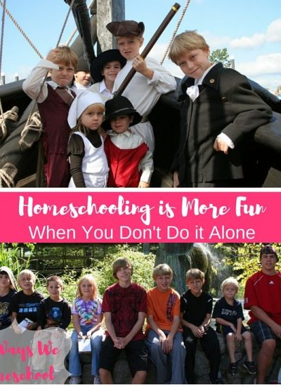 Homeschooling is More Fun When You Don't Do it Alone