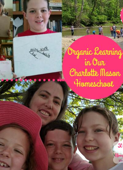 organic Charlotte Mason