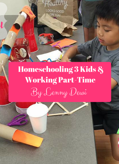 Homeschooling 3 Kids & Working Part-Time