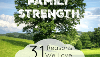 Why We Love Homeschooling: Family Strength