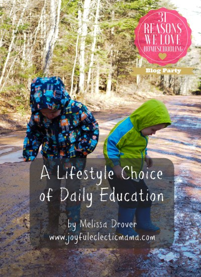 A Lifestyle Choice of Daily Education