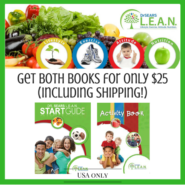 Dr. Sears LEAN Start Guide + Activity Book