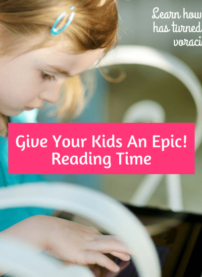 Give Your Kids An Epic! Reading Time