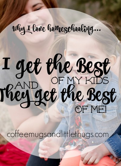 I Get the Best of My Kids and They Get the Best of Me!