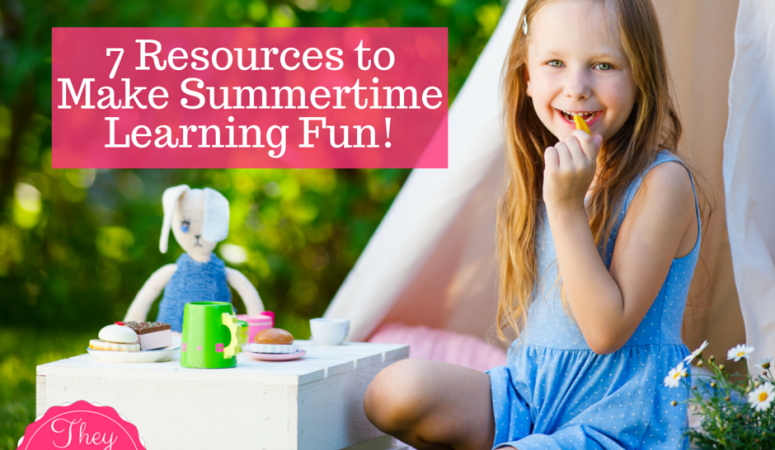 Make Your Summer Learning Fun with these Resources!