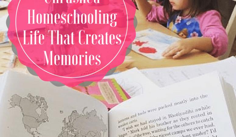 unrushed homeschooling