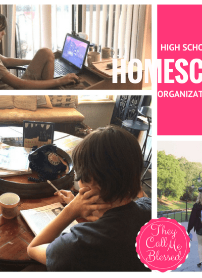 High School Homeschool Organization: Keep It Simple and Enjoy the Good Stuff!