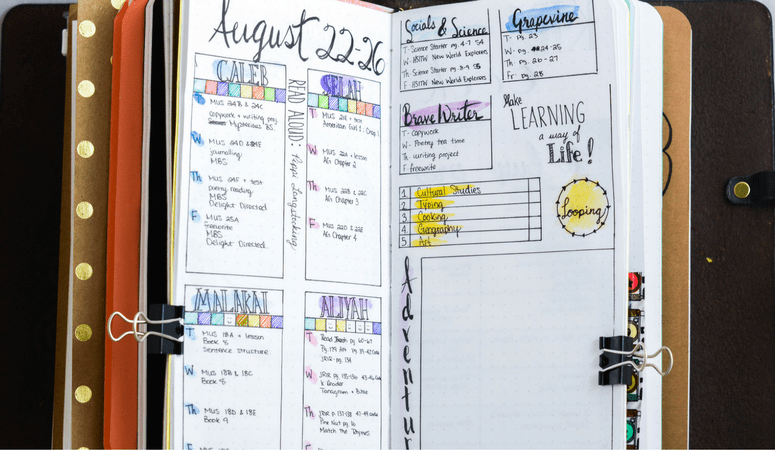 How to Make Your Own Homeschool Planner (that Works for You!)