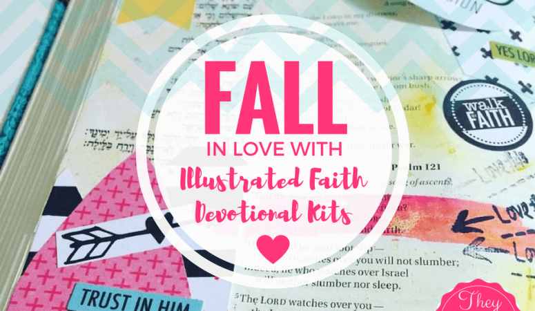 Fall in Love with Bible Journaling & Illustrated Faith Devotional Kits