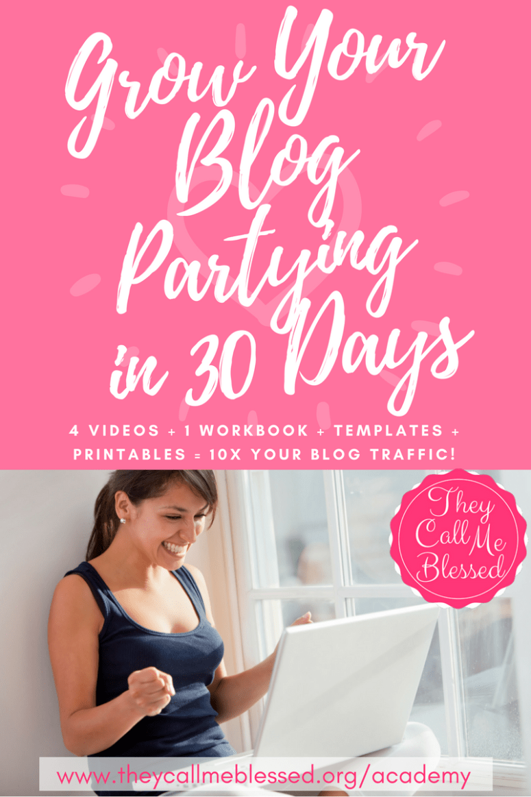 Grow Your Blog Partying