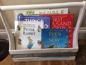 Homeschool Organization Basket Raise Good Readers
