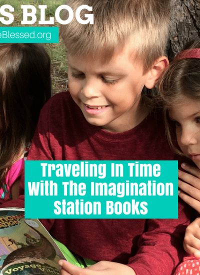Ben's Blog: Traveling In Time With The Imagination Station Books