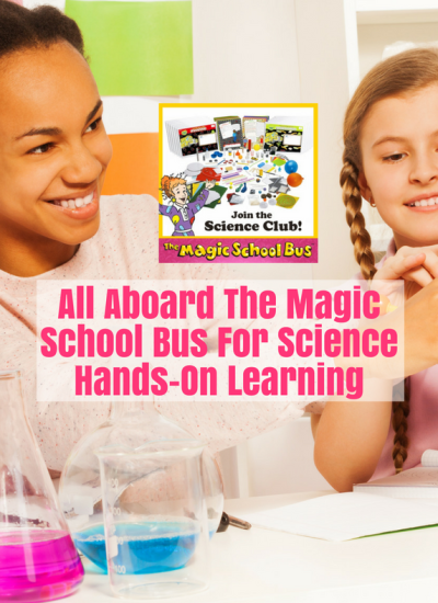 All Aboard The Magic School Bus For Science Hands-On Learning