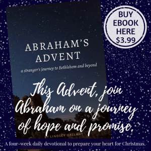 Featured on Blessed MOMdays Link Up Party - Abraham's Advent e-book