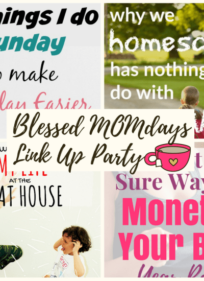 Blessed MOMdays Link Up Party #7