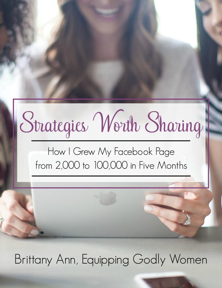 Strategies Worth Sharing
