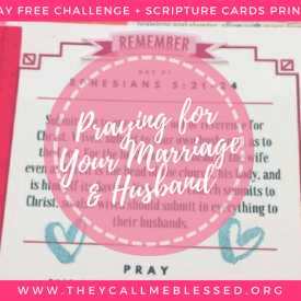 Are You Praying For Your Marriage & Husband?