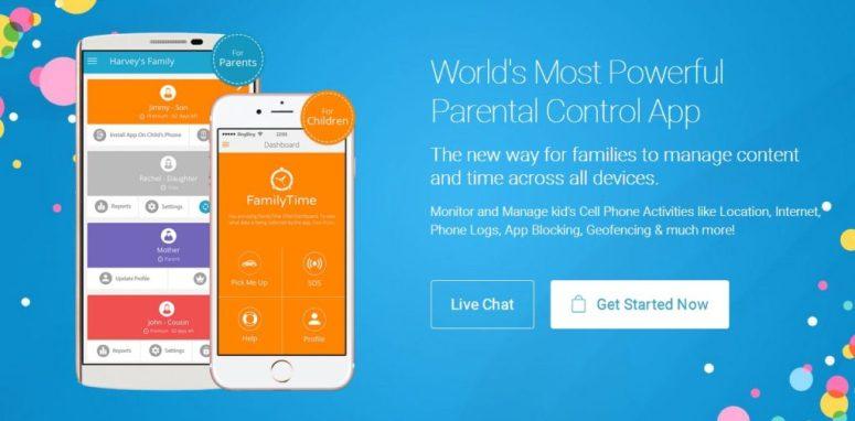 FamilyTime Parental Control App